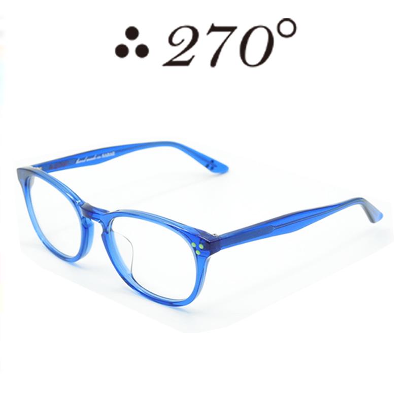 【あす楽】 270°メガネ / two-seventy degrees / 眼鏡 / 伊達メガネ / サングラス / HNL-BLU-CLR-GRN / 専用ケース付 /【送料無料】