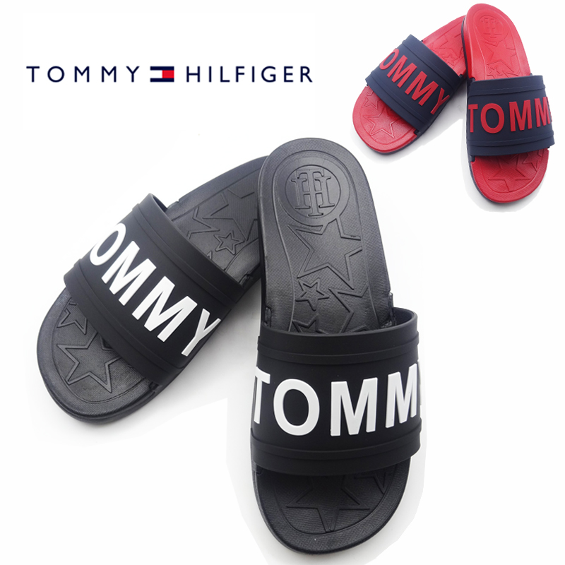 シャワーサンダル ロゴ TWYEVI サンダル トミーヒルフィガー レディース スライド メンズ TOMMY HILFIGER サンダル ブランド