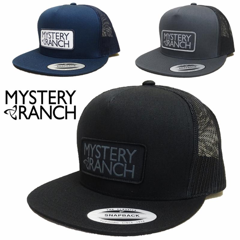 【あす楽】MYSTERY RANCH (ミステリーランチ) Mystery Trucker Hat / SNAPBACK / CAP / Mesh Cap / キャップ / スナップバックキャップ /