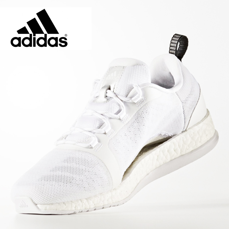 newest collection 4bc67 2069e adidas (Adidas) PureBOOST X TR 2 / pure boost X / Lady's / running white /  シルバーメット / core black / running shoes / training shoes / sneakers / BB3285