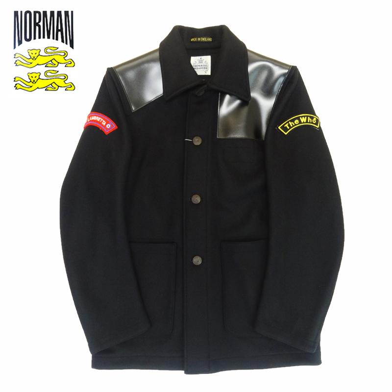 【あす楽】NORMAN Melton Remake Jacket / アウター / ノルマン / 馬場圭介様 / NOR-0051
