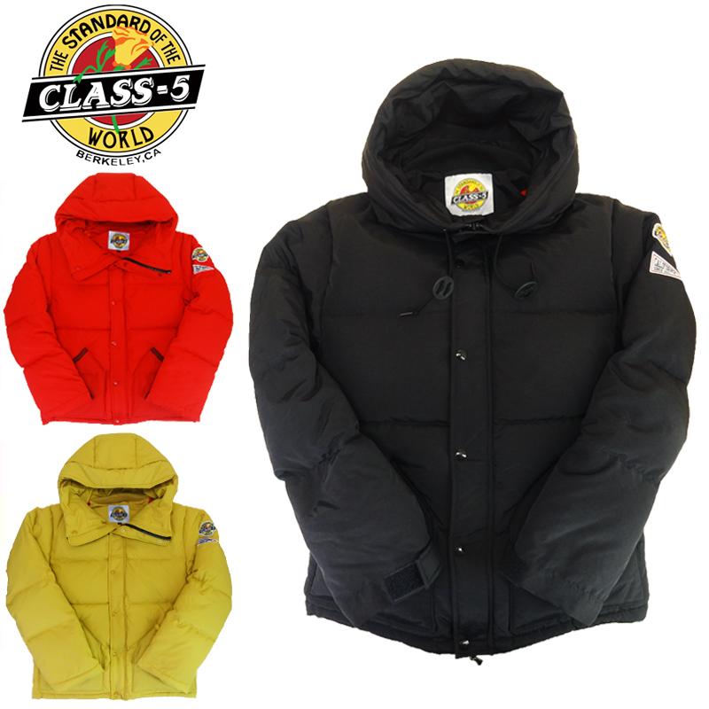 【あす楽】CLASS-5 Hike Down Blouson / クラスファイブ / ハイク ダウン ブルゾン / メンズ / ダウンジャケット / CL5-000-193002