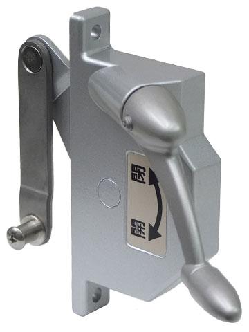 オーニング 窓 明治アルミ (突き出し) 修理用部品RC・ALC・内付用オペレーター (お部屋の中からみて右側取付タイプ用になります) S6044R