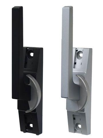 新日軽用 クレセント 防音引き違い窓 ATL-386 R( 右勝手用) ブラック/シルバー 防火仕様【メーカー取り寄せ品】