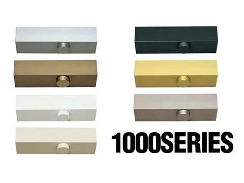 ドアクローザー RYOBI 1000シリーズ 「 B1004P 」 シルバー 【 メーカー取り寄せ品 】