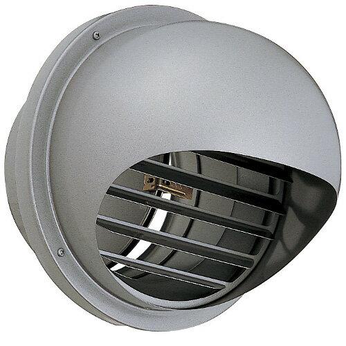 屋外用 パイプフード UNIX LSG200ADSP/SQ 網なし 丸型フード ステンレス製 横ガラリ 防火ダンパー【メーカー取り寄せ品】