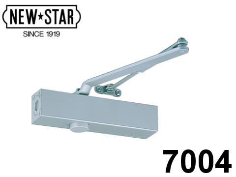 ドアチェック ニュースター 「7004」 スタンダード型 ストップなし ドアクローザー 日本ドアーチェック製造株式会社【メーカー取り寄せ品】