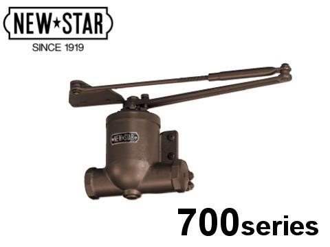 ニュースター ドアクローザー ドアチェック 「S-702」 日本ドアーチェック製造株式会社 スタンダード型 ストップ付