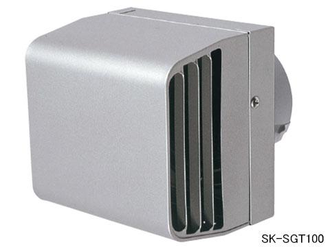 換気口 耐風型フード付ガラリ 神栄ホームクリエイト SK-SGT100 ステンレス網付【メーカー取り寄せ品】