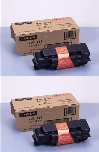【京セラ・ミタ メーカー純正品】 TK-331 ×2個セット【LS-3900DN 用】【送料無料】【smtb-td】