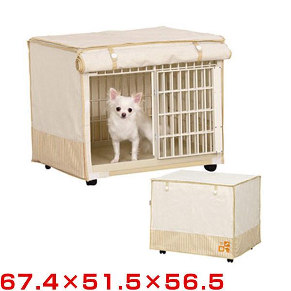 ケイジ・サークル ベージュ RLC-810 犬舎・サークル リラックスケージ W846×D583×H635mm|ペット 【送料無料】 アイリス 犬