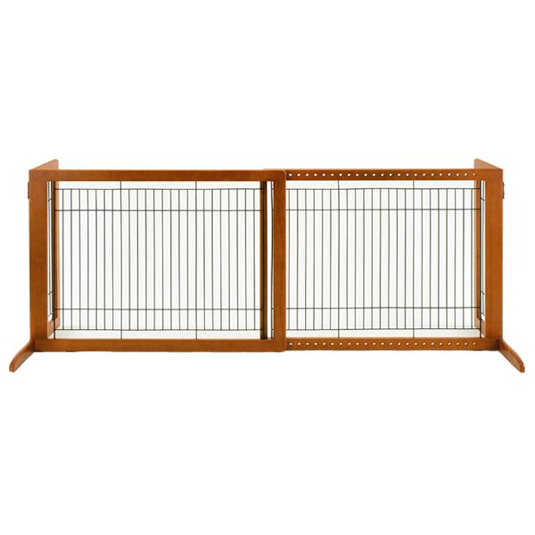 リッチェル 木製おくだけゲート ハイW / #w-130182【大型商品のため同梱不可】