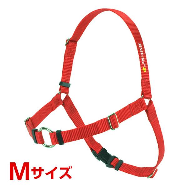 レッドハート 犬に優しい 引っ張り抑止胴輪 M レッド 0850705001075 #w-145721