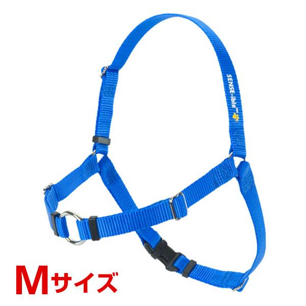 レッドハート 犬に優しい 引っ張り抑止胴輪 M ブルー 0850705001082 #w-145725