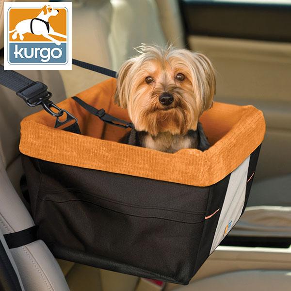 ルークラン KURgO スタンダードシリーズ ブースターシート ブラック&オレンジ 0896622000449 #w-146790