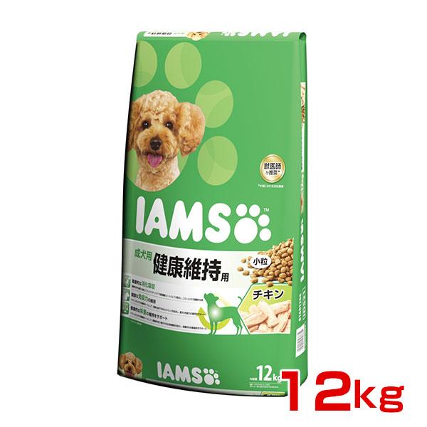 [アイムス]IAMS 成犬用 健康維持用 チキン 小粒 12kg 0019014603831 #w-150217