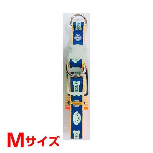 ハンドラー HDナイトラン 蓄光反射 ダブルDカンカラー M 中型犬用 青 NRWC-19.HD/BL 首輪 Mサイズ 青 4975023680347 #w-154443-00-00