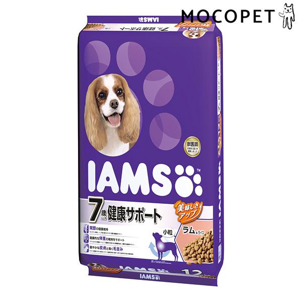 [アイムス]IAMS 7歳以上用 健康サポート ラム&ライス 小粒 12kg / 猫用 ドライフード 4902397846833 #w-157370-00-00