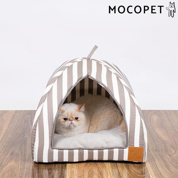 mog&bone イグルー Sサイズ ラテハンプトン / 猫 ベッド ドーム型 0797776310449 #w-157815-00-00