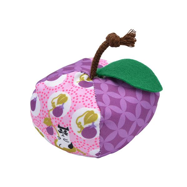 [ペットプロ]PetPro にゃんこりんご玉 茄子 / 猫 おもちゃ 4981528610420 #w-158255-00-00