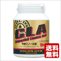 GOLD's GYM (Gold's gym) CLA (conjugated linoleic acid) 180 capsules