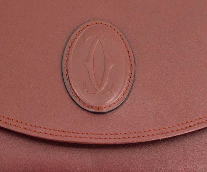 Cartier カルティエ マストライン セカンドバッグ クラッチバッグ ボルドー 保管品gvmyIYb76f