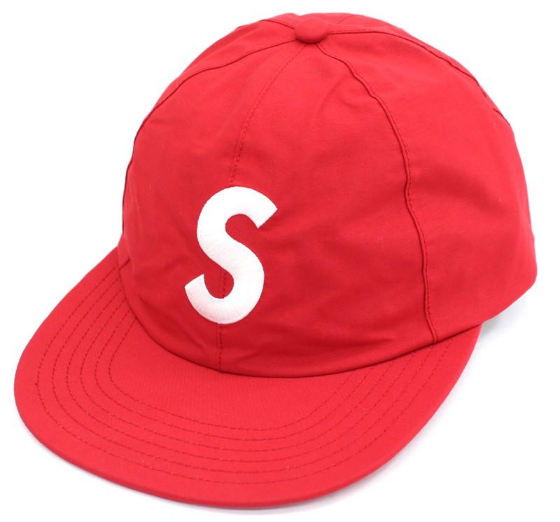 【未使用】Supreme シュプリーム 2019ss GORE-TEX S-Logo 6-Panel Cap ゴアテックス キャップ 帽子 レッド 赤 男女兼用 ユニセックス【中古】
