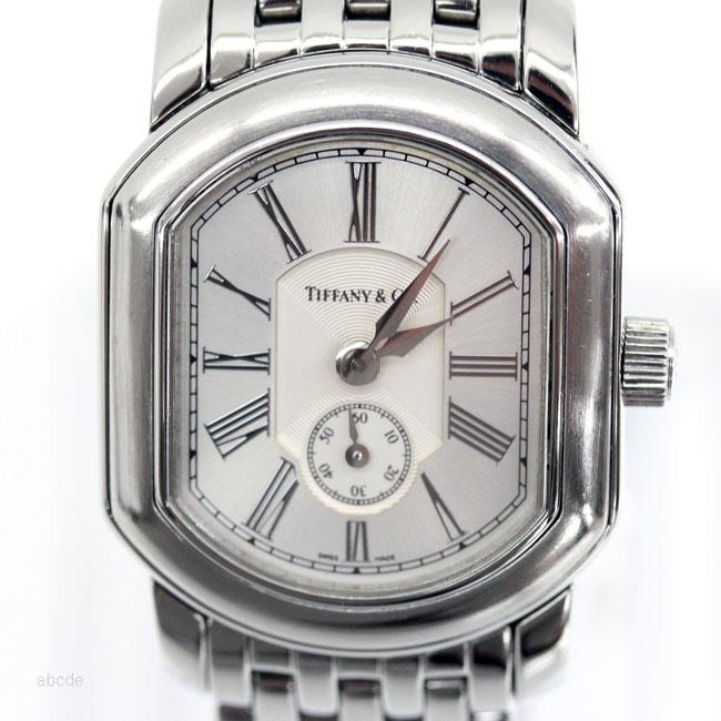 【TIFFANY&Co.】 ティファニー マーククーペSM レディースQZ 腕時計 クォーツ【中古】