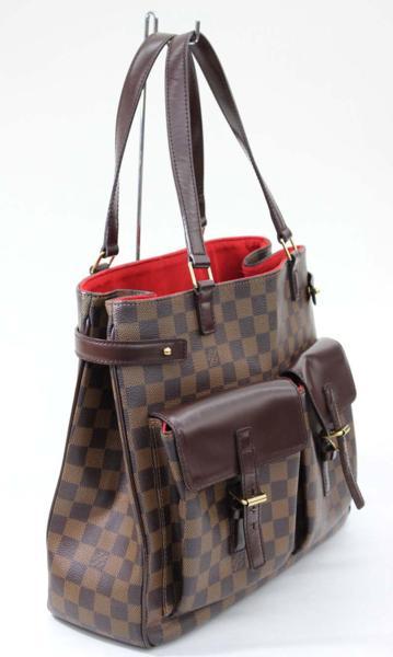【LOUISVUITTON】ルイヴィトンダミエユゼスN51128ハンドバッグ【】