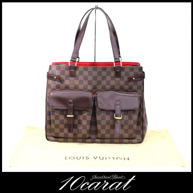 【LOUIS VUITTON】ルイヴィトン ダミエ ユゼス N51128ハンドバッグ【中古】