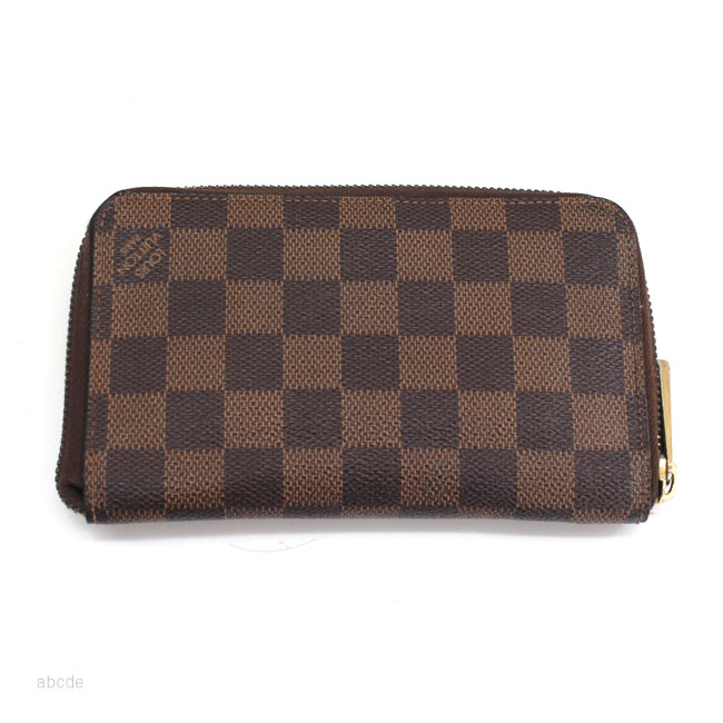 LOUIS VUITTON (ルイ ヴィトン) N60028 ダミエ ジッピー・コンパクト ウォレット 【中古】
