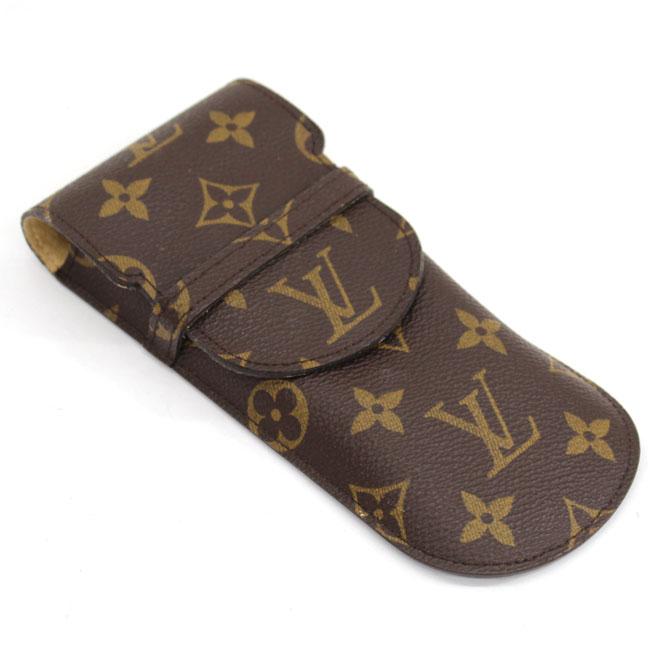 【Louis Vuitton】ルイヴィトン エテュイリュネットラバ モノグラム M62970 眼鏡ケース【中古】