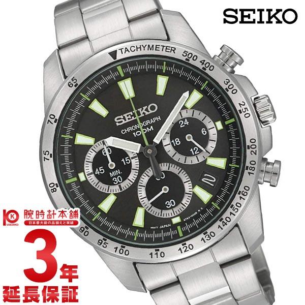 セイコー 逆輸入モデル クロノグラフ CHRONOGRAPH 100m防水 SSB027P1 [海外輸入品] メンズ 腕時計 時計