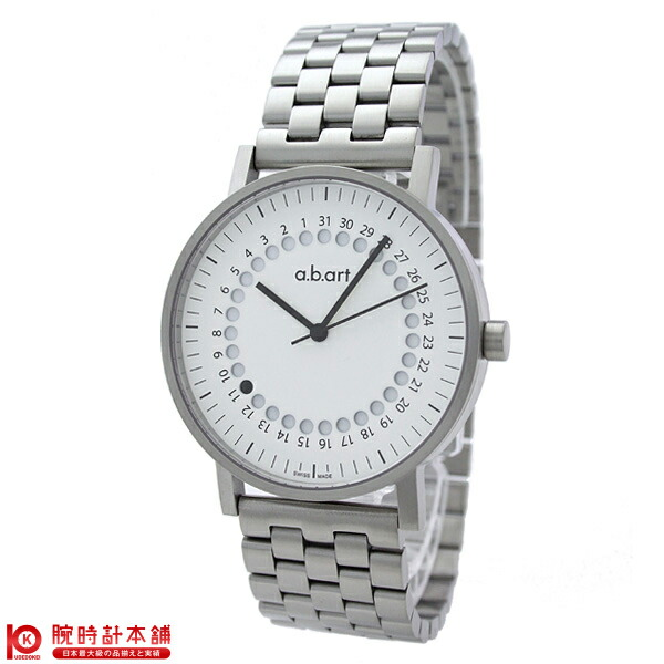 【8000円割引クーポン】エービーアート abart seriesO ホワイト O101Wメタル [正規品] メンズ 腕時計 時計【24回金利0%】【あす楽】