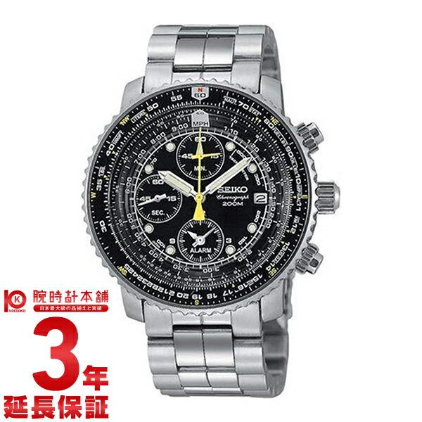セイコー 逆輸入モデル クロノグラフ CHRONOGRAPH パイロットクロノグラフ 200m防水 SNA411 [海外輸入品] メンズ 腕時計 時計
