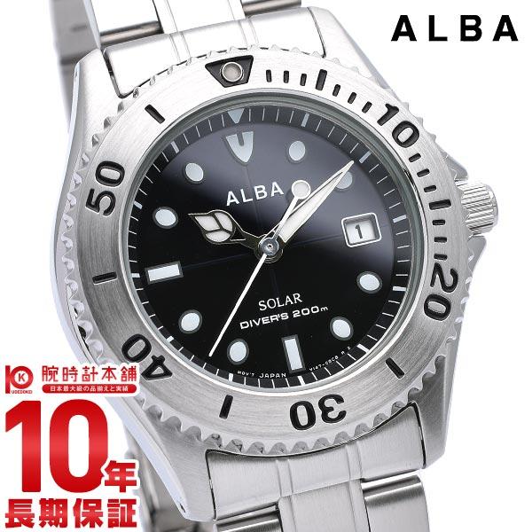 セイコー アルバ ALBA ソーラー 200m潜水用防水 AEFD529 [正規品] メンズ 腕時計 時計