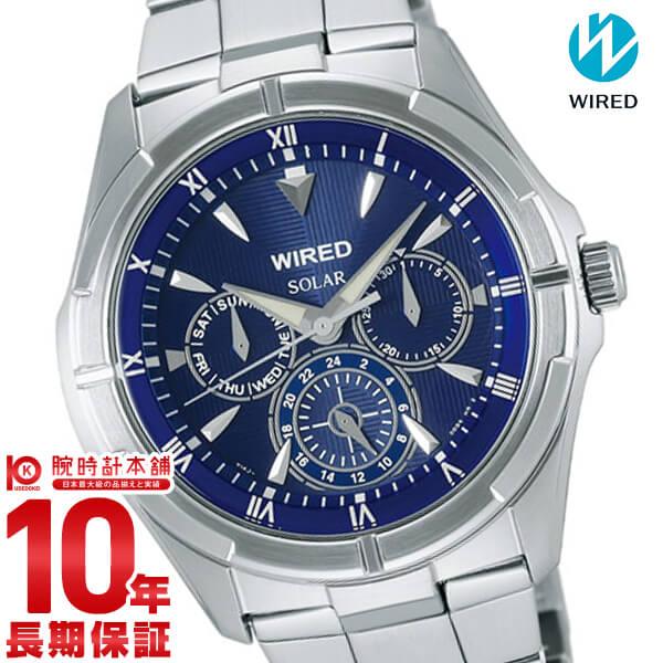 セイコー ワイアード WIRED ソーラー ニュースタンダード 10気圧防水 AGAD033 [正規品] メンズ 腕時計 時計【あす楽】