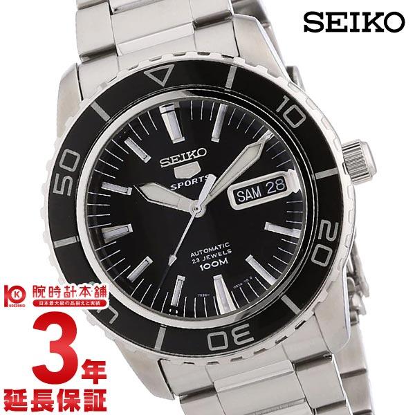 セイコー 逆輸入モデル SEIKO5 スケルトンバック 100m防水 機械式(自動巻き) SNZH55K1 [海外輸入品] メンズ 腕時計 時計