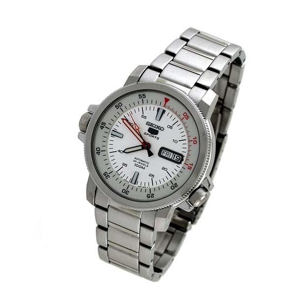 세이코 5 역수입 모델 SEIKO5 100 m방수 기계식(자동감김) SNZJ53J1 [해외 수입품]맨즈 손목시계 시계