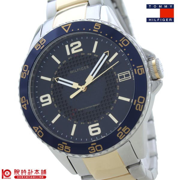 【店内最大37倍!28日23:59まで】【最安値挑戦中】トミーヒルフィガー TOMMYHILFIGER 1790839 [海外輸入品] メンズ 腕時計 時計