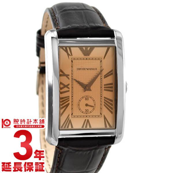 【店内ポイント最大43倍&最大2000円OFFクーポン!9日20時から】エンポリオアルマーニ EMPORIOARMANI クラシックコレクション AR1605 [海外輸入品] メンズ 腕時計 時計