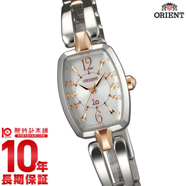 【店内最大37倍!28日23:59まで】オリエント ORIENT イオ スイートジュエリー ソーラー WI0151WD [正規品] レディース 腕時計 時計
