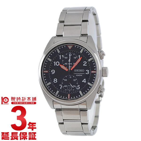セイコー 逆輸入モデル クロノグラフ CHRONOGRAPH 100m防水 SNN235P1 [海外輸入品] メンズ 腕時計 時計