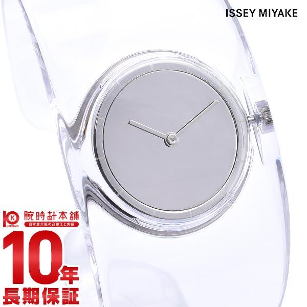 イッセイミヤケ 時計 レディース ISSEYMIYAKE O オー クリア SILAW001 [正規品] 【36回金利0%】