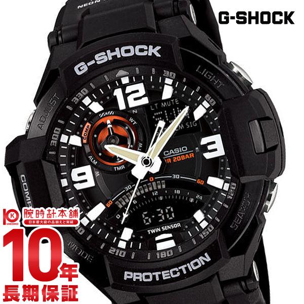 【店内最大37倍!28日23:59まで】カシオ Gショック G-SHOCK グラビティマスター パイロット GA-1000-1AJF [正規品] メンズ 腕時計 時計(予約受付中)