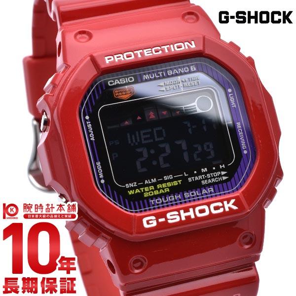 カシオ Gショック G-SHOCK G-LIDE 世界6局電波ソーラーウォッチ タイドグラフ&ムーンデータ搭載 GWX-5600C-4JF [正規品] メンズ 腕時計 時計(予約受付中)