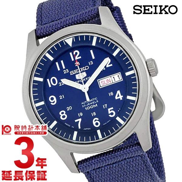 最大1200円割引クーポン対象店 セイコー5 逆輸入モデル SEIKO5 5スポーツ ミリタリー 100m防水 機械式(自動巻き) SNZG11J1 [海外輸入品] メンズ 腕時計 時計
