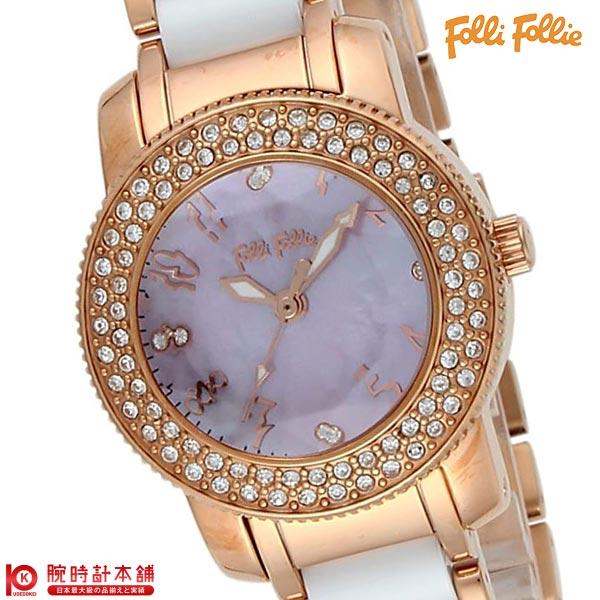 【20日は店内最大ポイント37倍!】 フォリフォリ FolliFollie ジルコニア WF2B029BSP [海外輸入品] レディース 腕時計 時計