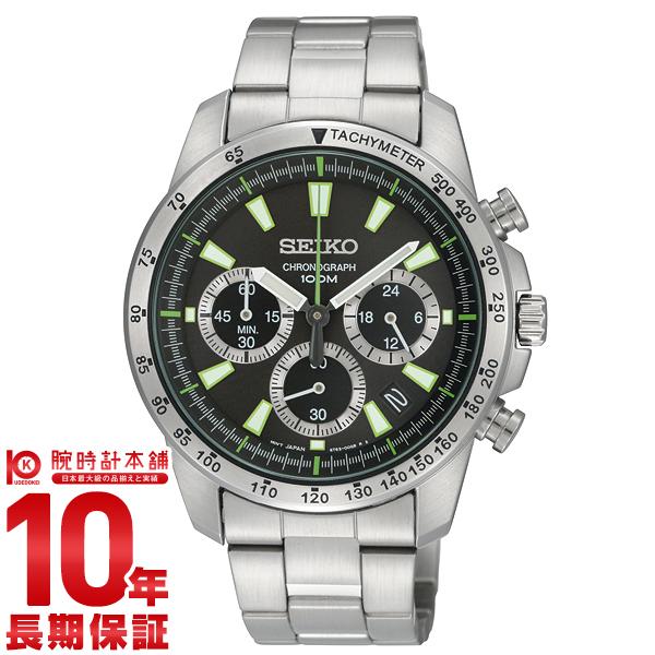 セイコー 逆輸入モデル SEIKO クロノグラフ 10気圧防水 SSB027P1(SSB027PC) [正規品] メンズ 腕時計 時計