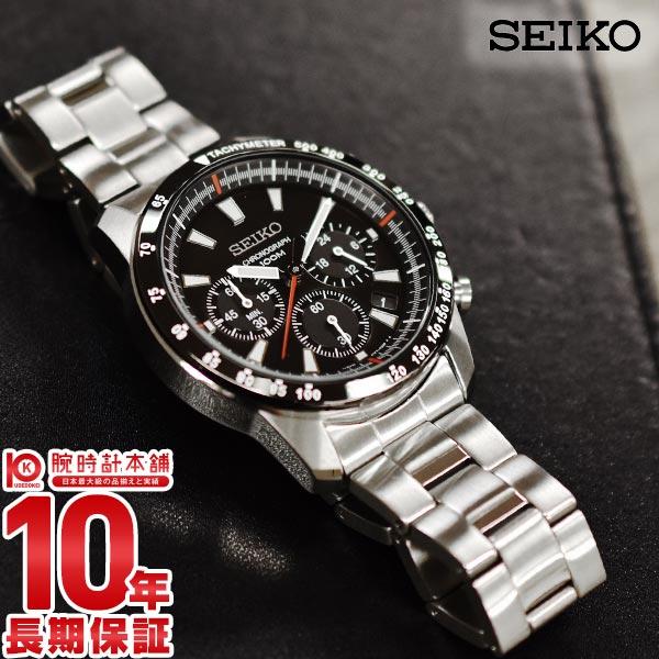 最大1200円割引クーポン対象店 セイコー 逆輸入モデル SEIKO クロノグラフ 10気圧防水 SSB031P1【あす楽】